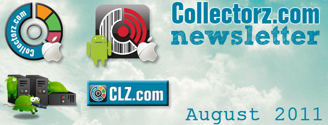 Collectorz.com Newsletter August 2011