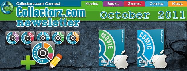 Collectorz.com Newsletter October 2011