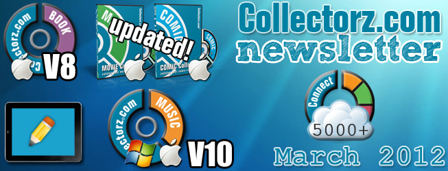 Collectorz.com Newsletter March 2012