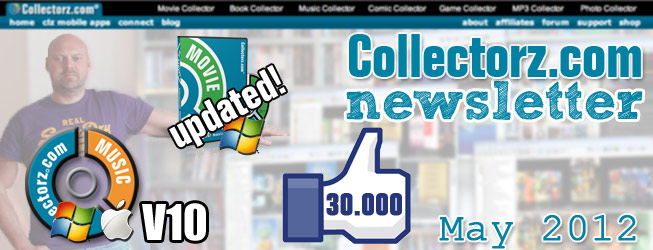 Collectorz.com Newsletter May 2012